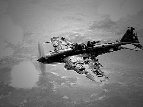 Một máy bay Il-2 của Liên Xô bị trúng nhiều vết đạn trong Thế chiến II. Ảnh: Wikipedia.