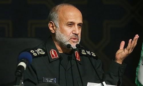 Tướng Rashid trong cuộc họp hôm 23/6. Ảnh: Fars News.