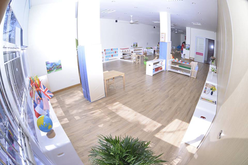 Lớp học Montessori theo tiêu chuẩn quốc tế tại Sakura Montessori Hải Phòng.