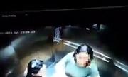 Che camera, người đàn bà đi tiểu bậy trong thang máy