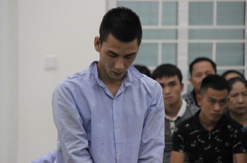 Bị cáo Vinh tại phiên phúc thẩm.