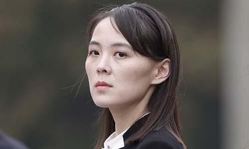 Kim Yo-jong, em gái nhà lãnh đạo Triều Tiên Kim Jong-un. Ảnh: AP.