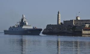 Hộ vệ hạm Nga cập cảng Cuba khiến Mỹ lo lắng