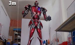 Robot biết nói cao 3 mét của nhóm thanh niên Hà Nội