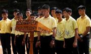 Đội bóng nhí Thái Lan kỷ niệm một năm mắc kẹt trong hang động