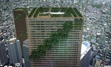 Nhà chọc trời bằng gỗ cao nhất thế giới ở Nhật Bản