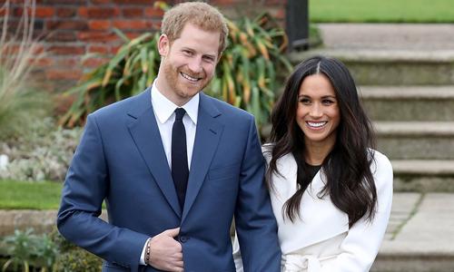 Vợ chồng Hoàng tử Harry và Công nương Meghan. Ảnh: AFP.