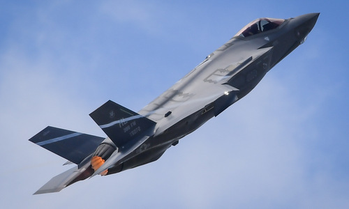 Tiêm kích F-35A biểu diễn tại Paris hồi năm 2017. Ảnh: USAF.