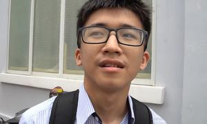 Thí sinh đánh giá đề Sinh học thi THPT quốc gia