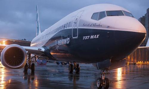 Một máy bay 737 MAXcủa Boeing. Ảnh:Reuters.