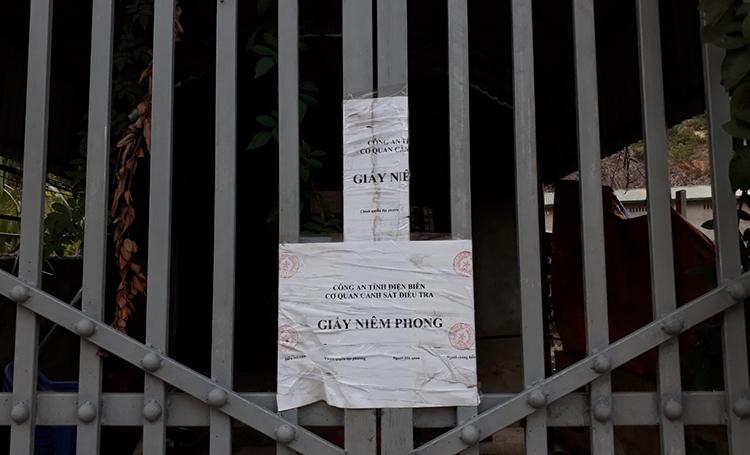 Nhà Bùi Văn Công nơi giam giữ nữ sinh.