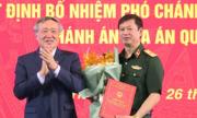 Thiếu tướng Dương Văn Thăng làm Chánh án Tòa án Quân sự Trung ương