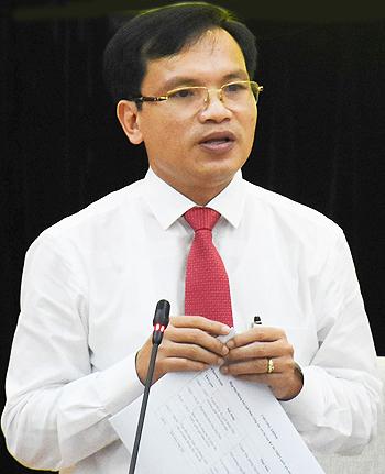 Ông Mai Văn Trinh, Cục trưởng Quản lý chất lượng (Bộ Giáo dục và Đào tạo) phát biểu chiều 27/6. Ảnh: Dương Tâm
