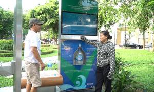 20 cây lọc nước gần 7 tỷ được lắp đặt miễn phí cho Hà Nội