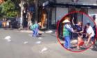 Phạt tiá»n không Äủ rÄn Äe ngÆ°á»i Äánh nữ lao công quÃt rác