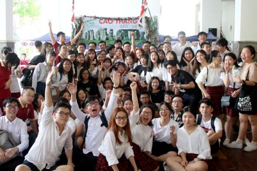 Môi trường học tập, ngoại khóa năng động tại Asian School giúp Khánh Tuyên tự tin phát huy tiềm năng.