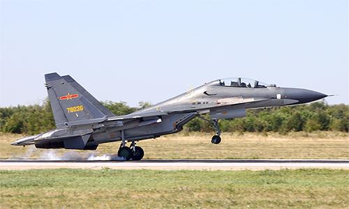 Tiêm kích Su-30 của Trung Quốc. Ảnh: Aeronef.