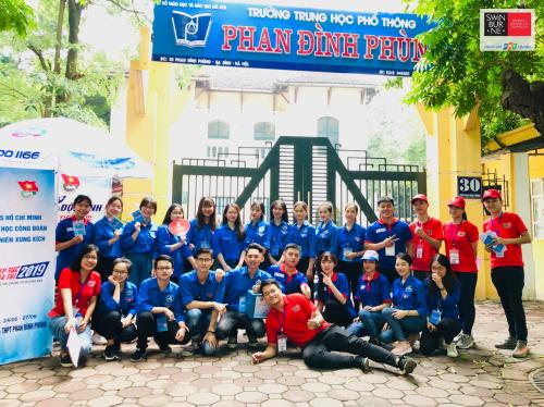 Đại học Swinburne Việt Nam tiếp sức kỳ thi tốt nghiệp THPT Quốc gia 2019 - 1