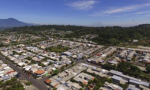 Một góc khu dân cư Altavista nhìn từ trên cao. Ảnh: AP.