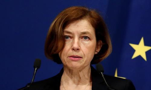 Bộ trưởng Quốc phòng Pháp hồi tháng 5. Ảnh: Reuters.