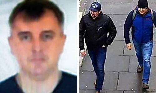 Denis Sergeev, trái, được cho là chỉ huy của hai nghi phạm còn lại. Ảnh: Daily Star.