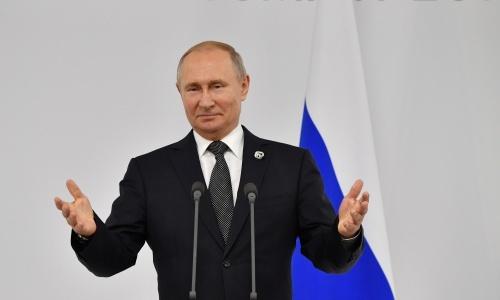 Tổng thống Nga Putin dự G20 tại Nhật Bản. Ảnh: Reuters.