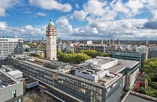 Khuôn viên chính của Imperial College London nhìn từ trên cao. Ảnh: Venues4Hire