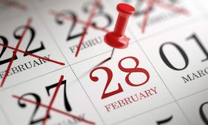 Tháng 2 nào trên lịch có 30 ngày?