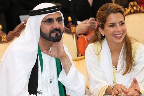 Công chúa Haya Bint Al Hussein và chồng, Thủ tướng UAE Mohammed bin Rashid Al Maktoum. Ảnh: Emirates Woman