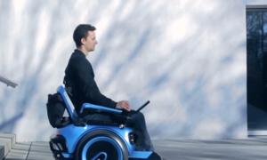 Xe lăn điện di chuyển trên mọi địa hình tại Thụy Sĩ