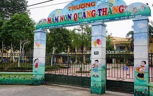 Thanh Hoá: Hiệu trưởng bị cách chức vì bớt xén hơn 1.700 suất ăn của trẻ