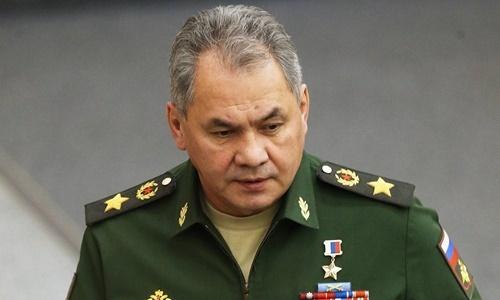 Bộ trưởng Quốc phòng Nga Sergey Shoigu. Ảnh: TASS.