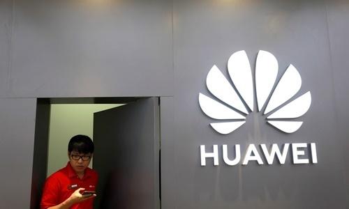 Một cửa hàng của Huawei ở Bangkok, Thái Lan. Ảnh: Reuters.