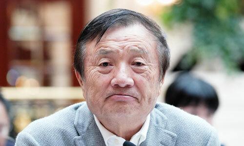 Người sáng lập Huawei Nhậm Chính Phi. Ảnh: CVG.
