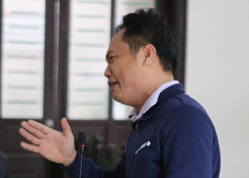 Bị cáo Ca. Ảnh: Nguyễn Hải.