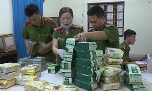 Nhóm người buôn nửa tạ ma túy từ Lào về Việt Nam bị bắt giữ