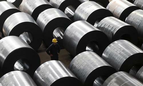 Sản phẩm thép xuất khẩu từ Việt Nam. Ảnh: KD.