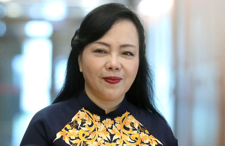 Bộ trưởng Nguyễn Thị Kim Tiến. Ảnh: Võ Hải