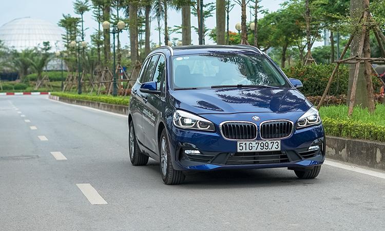 BMW 218i Gran Tourer là mẫu xe gia đình với 7 chỗ ngồi. Ảnh: Lương Dũng.
