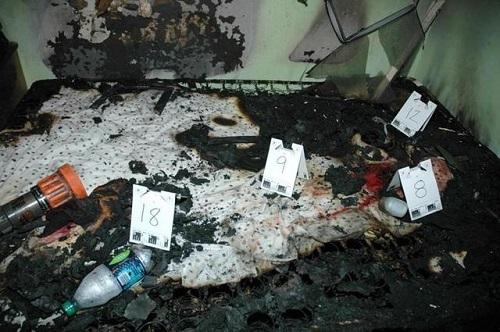 Đám cháy và vụ giết người do Marco gây ra.