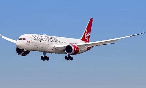 Một máy bay của Virgin Atlantic. Ảnh: istock.