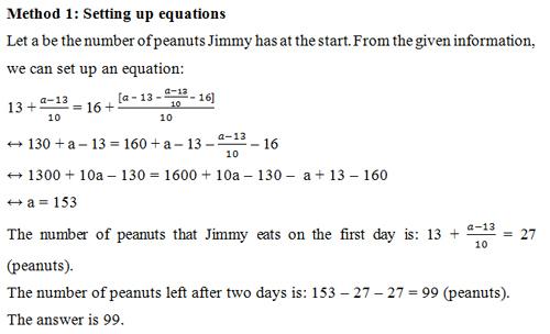 Đáp án bài toán đếm hạt lạc trong kỳ thi TIMC 2016 - 2