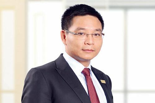 Ông Nguyễn Văn Thắng phát biểu tại lễ nhận chức. Ảnh: Minh Cương