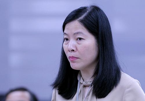 Bà Lê Thị Bích Thuận - tân Giám đốc Sở Giáo dục và đào tạo TP Đà Nẵng. Ảnh: Nguyễn Đông.