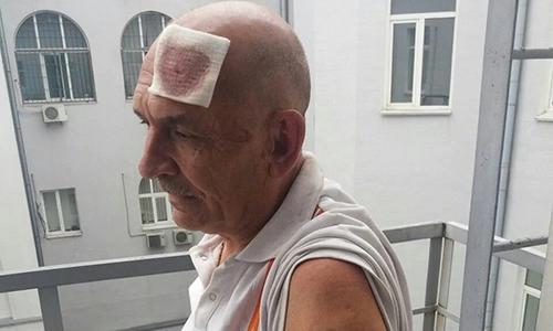 Vladimir Tsemakh bị bắt hôm 27/6. Ảnh: Twitter.