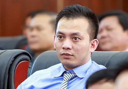 Ông Nguyễn Bá Cảnh tại kỳ họp HĐND TP Đà Nẵng cuối tháng 12/2018. Ảnh:Nguyễn Đông.
