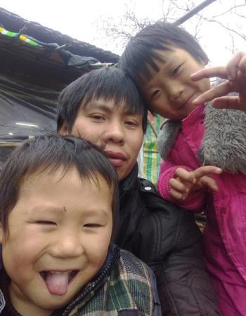 Ba cha conLiu Limei. Ảnh:China Daily