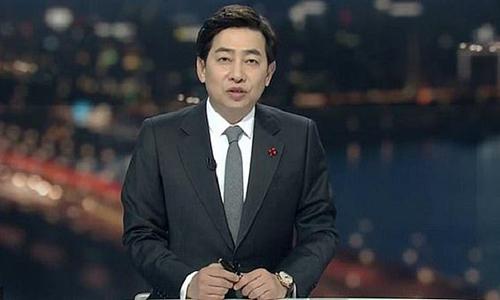 Kim Sung-joon, cựu phát thanh viên đài truyền hình SBS của Hàn Quốc. Ảnh: SBS.