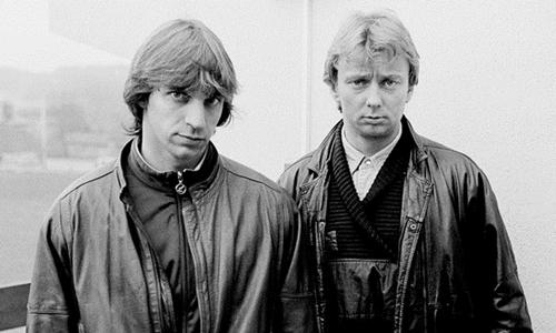 Willem Holleeder (trái) và Cor van Hout tại Pháp tháng 11/1985. Ảnh: New Yorker.