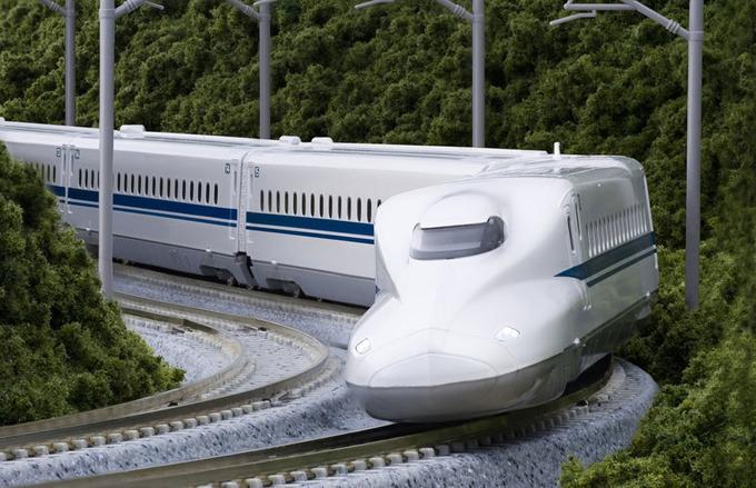 Tàu cao tốc Shinkansen ở Nhật Bản. Ảnh: Ảnh: Japantourist/Kyotostation.